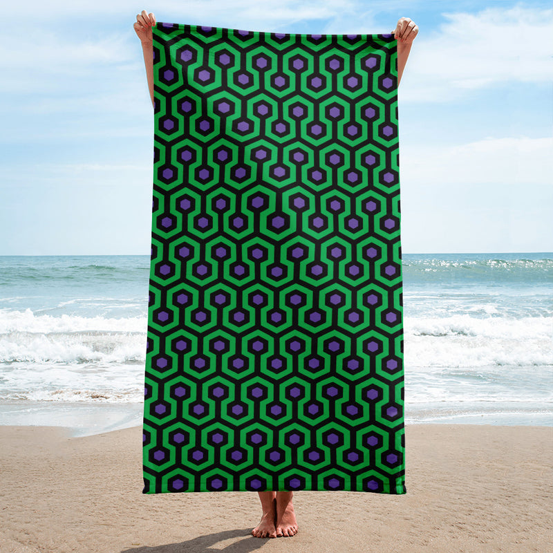 Overlook Hotel 2 Beach Towel