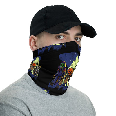 Trick or Treat Face Mask/Neck Gaiter - Dystopian Designs