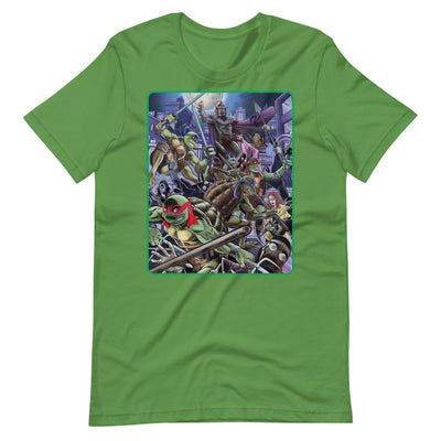 Shell Shock T-Shirt - Green - Dystopian Designs