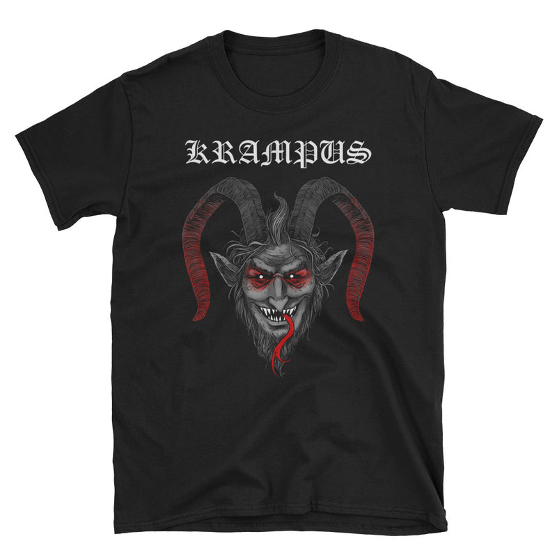 Krampus Black Metal T-Shirt - Dystopian Designs