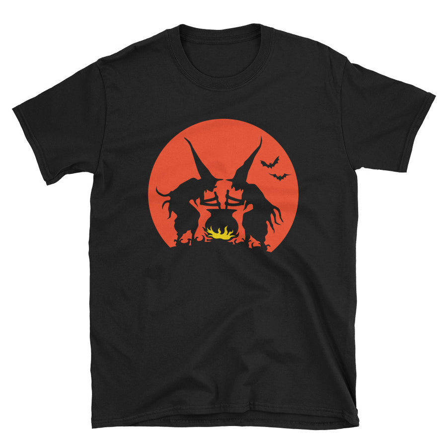 Witches' Brew Vintage Halloween T-Shirt - Dystopian Designs