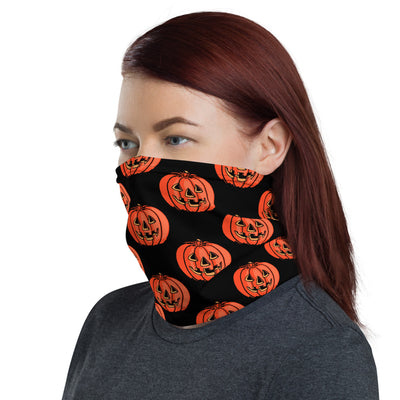 Grinning Jack Face Mask/Neck Gaiter - Black - Dystopian Designs