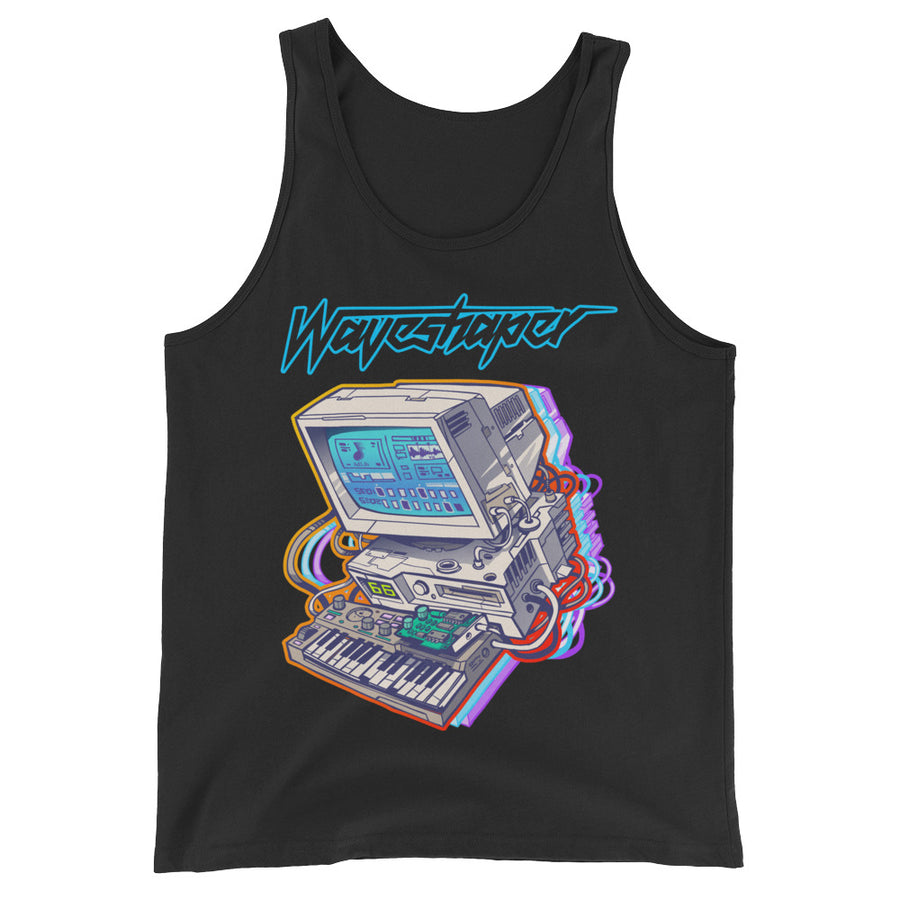 Waveshaper 66mhz Tank Top T-Shirt - Dystopian Designs