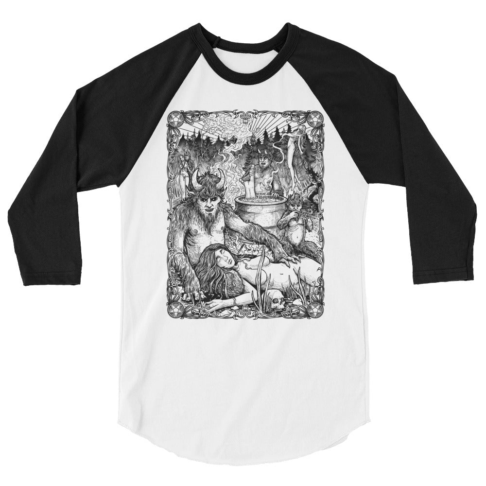 "Häxan ""The Devil's Minions"" Baseball Shirt - Dystopian Designs"