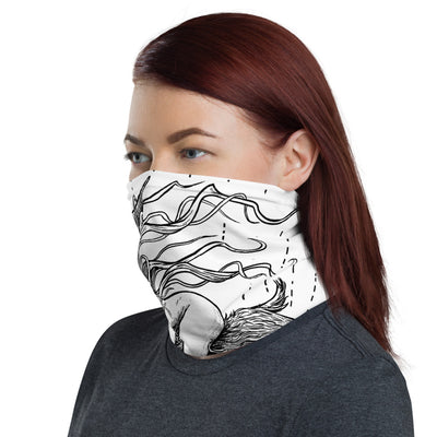 "Häxan ""Flying"" Face Mask/Neck Gaiter - Dystopian Designs"
