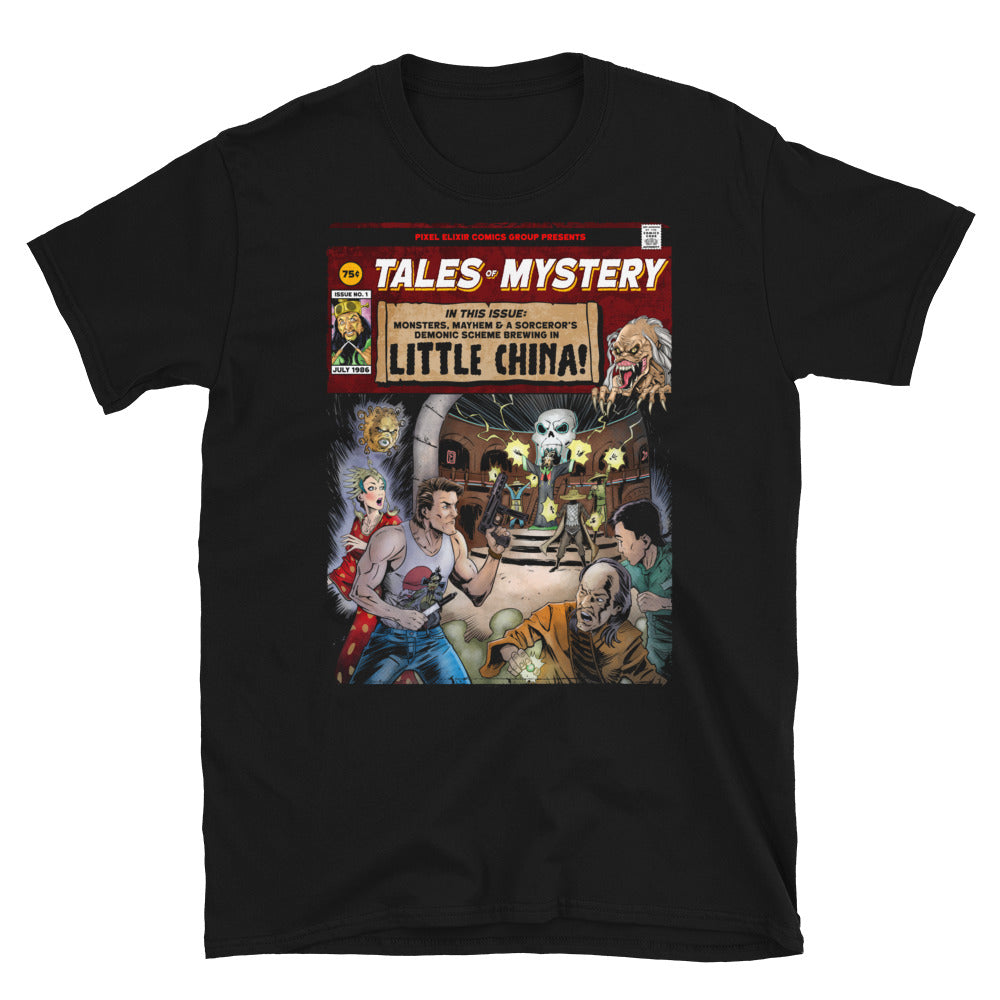 Tales of Mystery From Little China T-Shirt - Dystopian Designs
