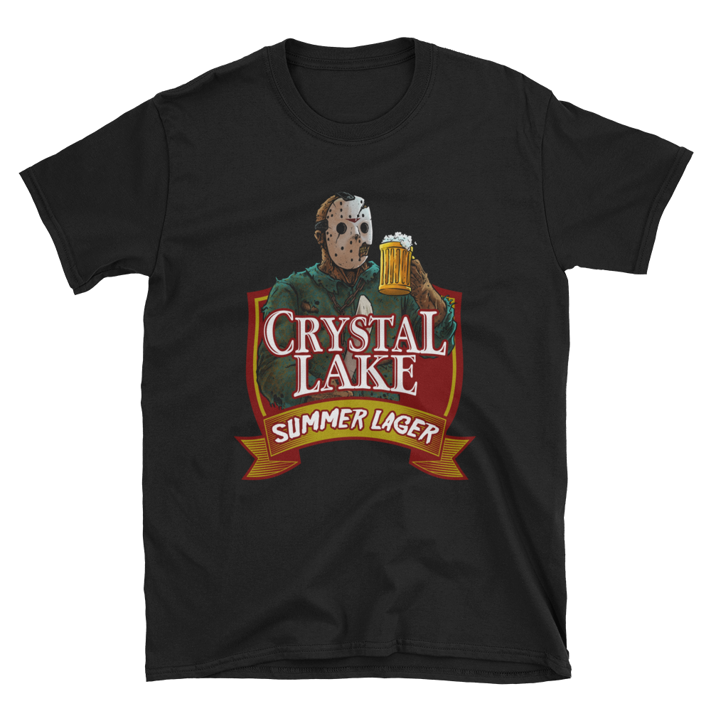 Crystal Lake Summer Lager T-Shirt - Dystopian Designs