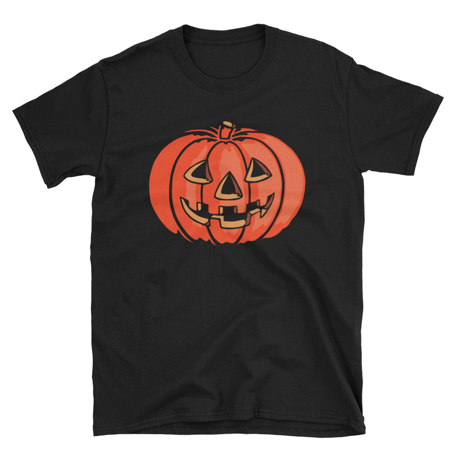 Grinning Jack Vintage Halloween T-Shirt - Dystopian Designs