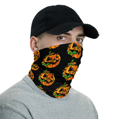 Radballs Pumpkin Face Mask/Neck Gaiter - Dystopian Designs
