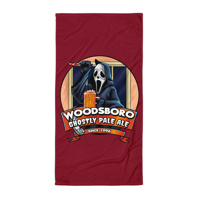 Woodsboro Brewing Co. Beach Towel