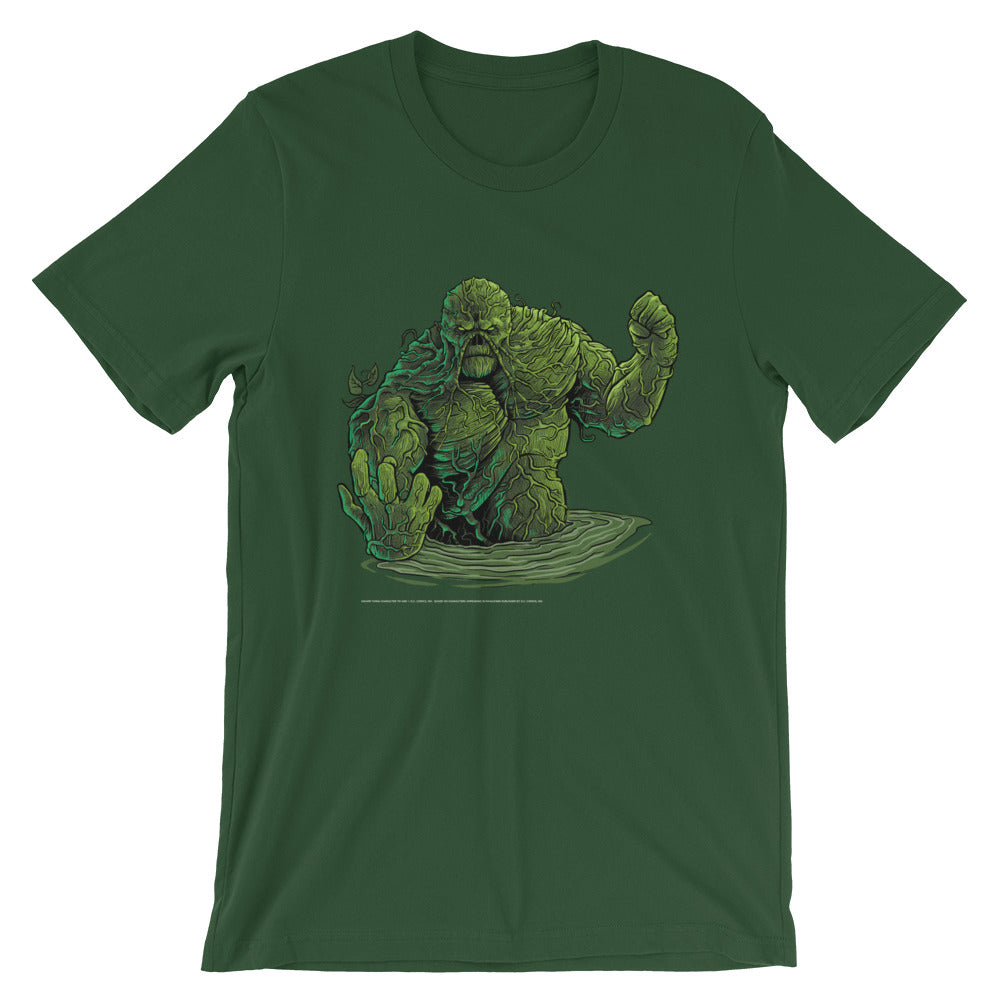 Return of Swamp Thing Swamp Green T-Shirt - Dystopian Designs