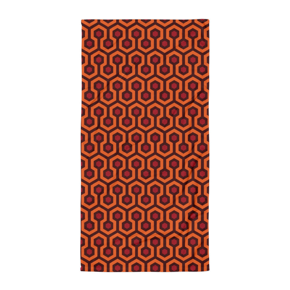 Overlook Hotel Beach Towel