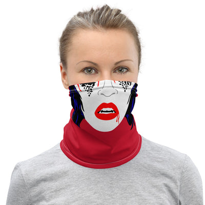 Vampire Girl Face Mask/Neck Gaiter - Dystopian Designs