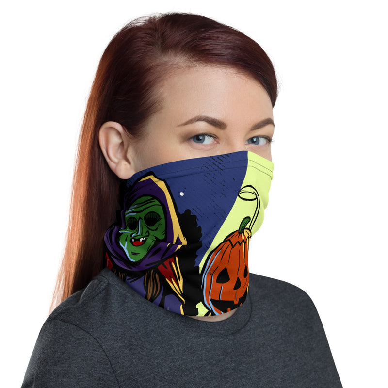 Trick or Treat XL Face Mask/Neck Gaiter - Dystopian Designs