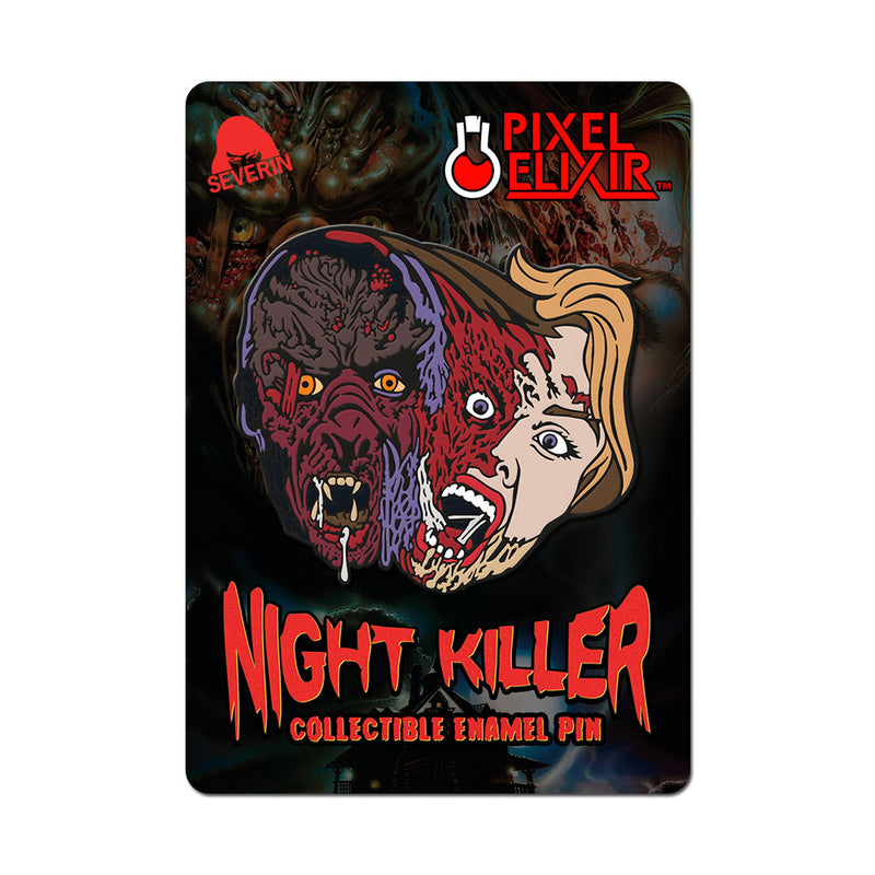 Night Killer Enamel Pin - Dystopian Designs