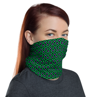 Overlook Hotel 2 Face Mask/Neck Gaiter - Dystopian Designs