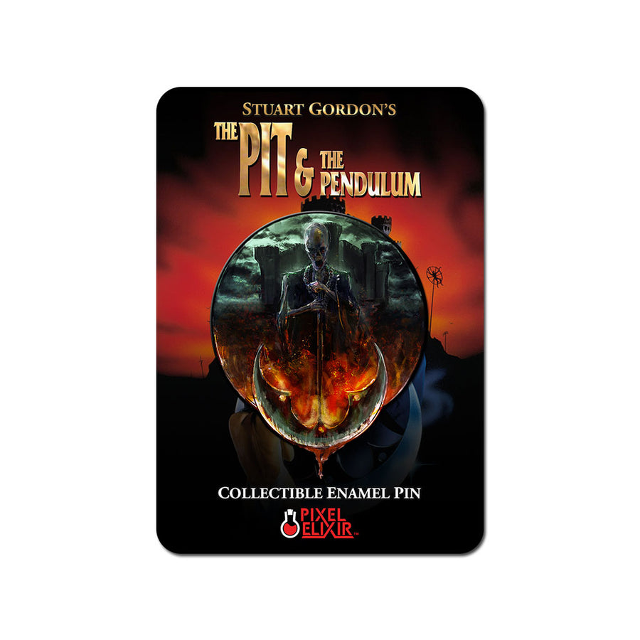 The Pit & the Pendulum Enamel Pin Set - Dystopian Designs