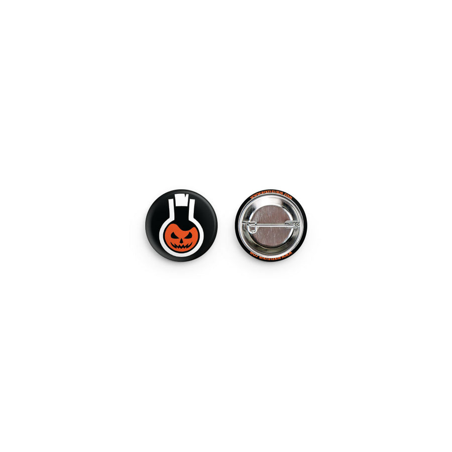 Pixel Elixir Halloween Logo Button - Dystopian Designs