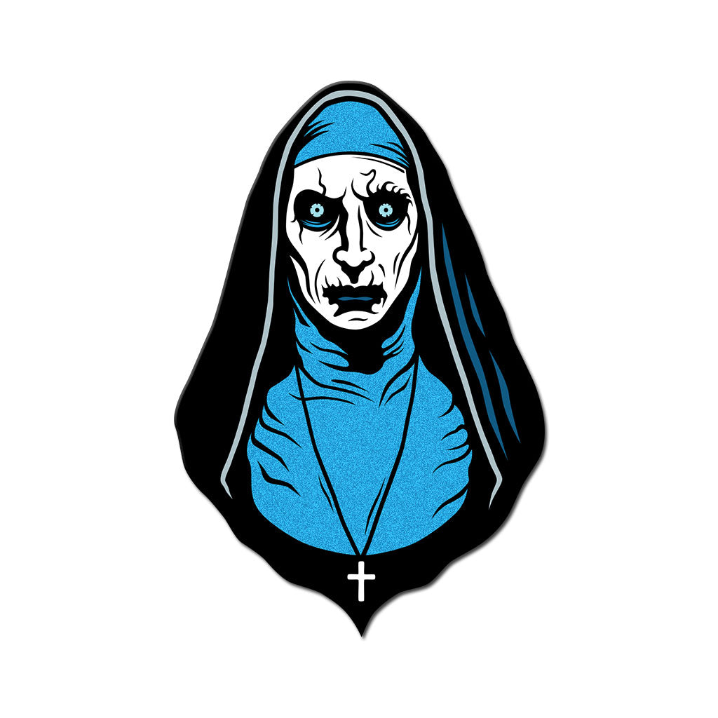 Pray For a Frosty Death Enamel Pin - Dystopian Designs