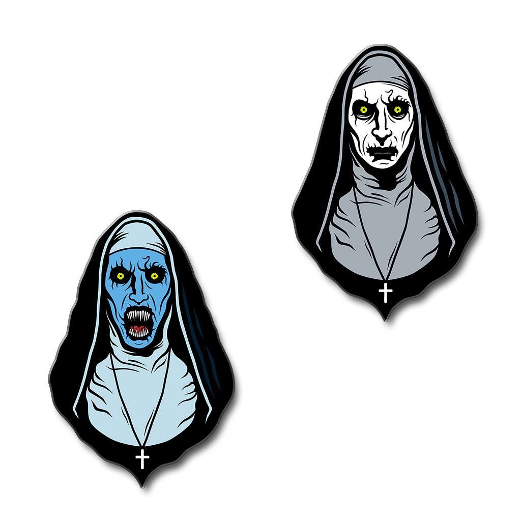 Pray For Death Enamel Pin (Set of 2) - Dystopian Designs
