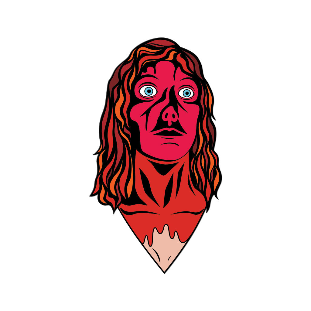 Carrie Bloody Prom Queen Stephen King Brian De Palma Horror Enamel Pin