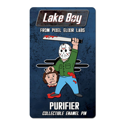 Purifier Enamel Pin - Dystopian Designs
