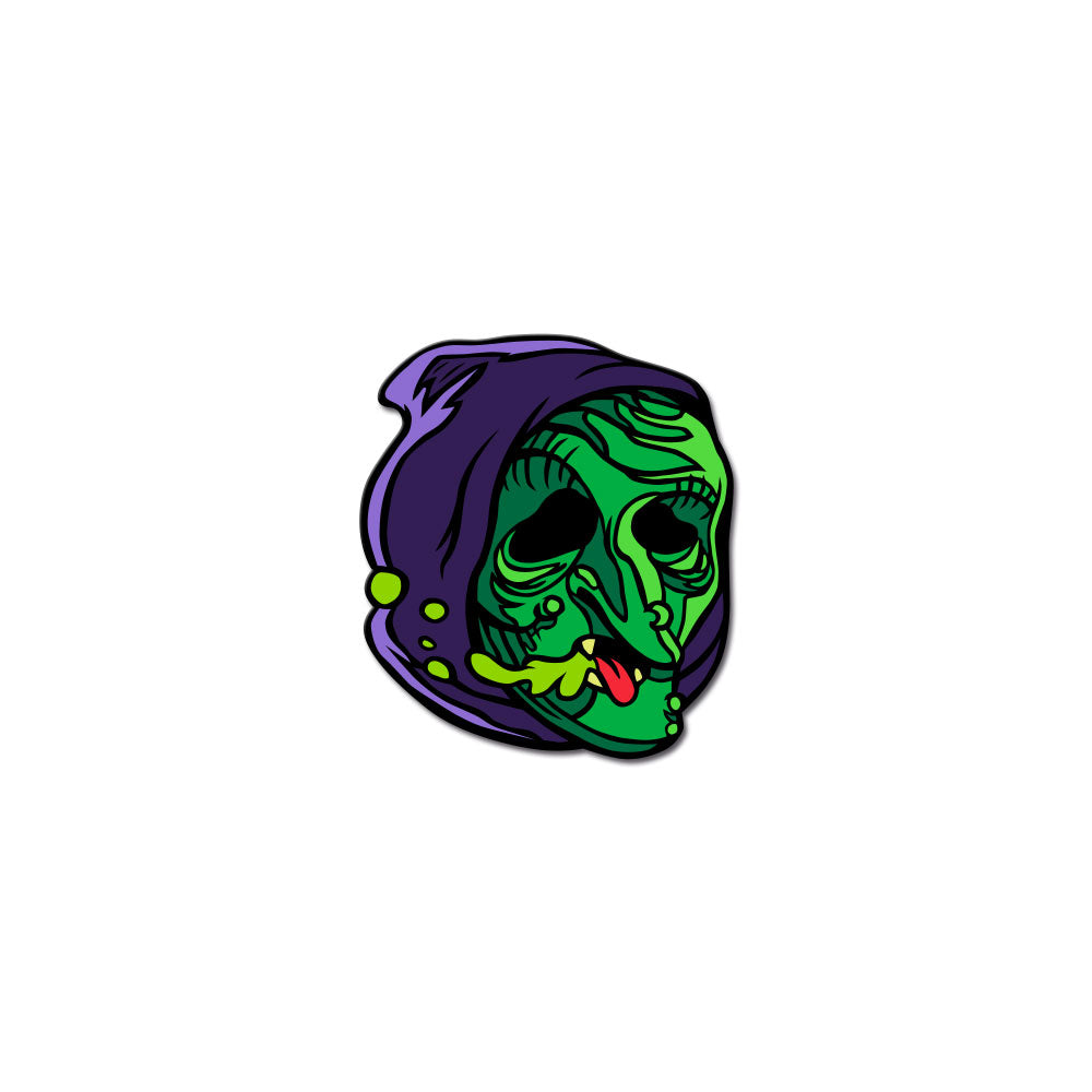 Radballs Enamel Pin - Witch - Dystopian Designs