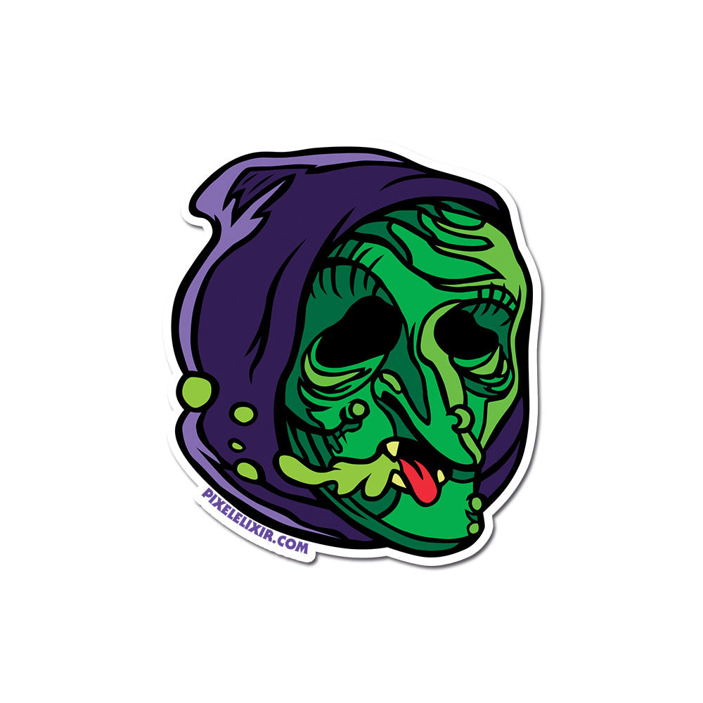 "Radballs 4"" Vinyl Sticker - Witch"