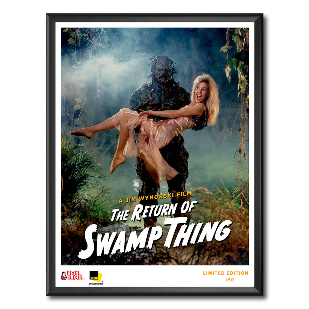 Return of Swamp Thing Art Print - Dystopian Designs