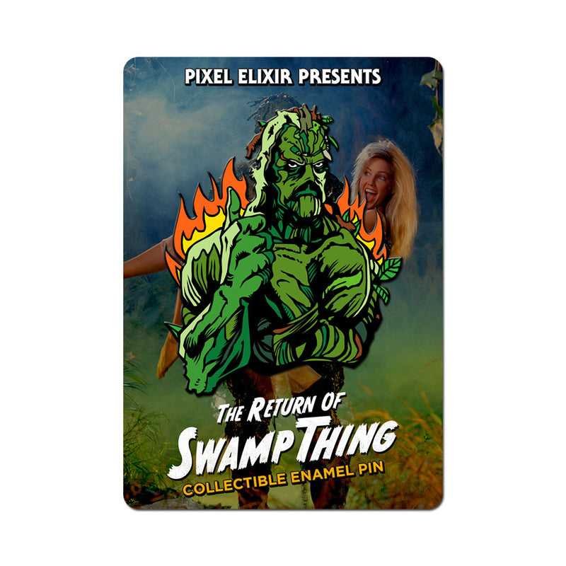 Return of Swamp Thing Thumbs Up Enamel Pin - Dystopian Designs