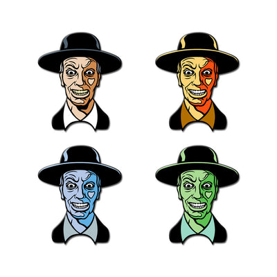 The Reverend Enamel Pin (Set of 4) - Dystopian Designs