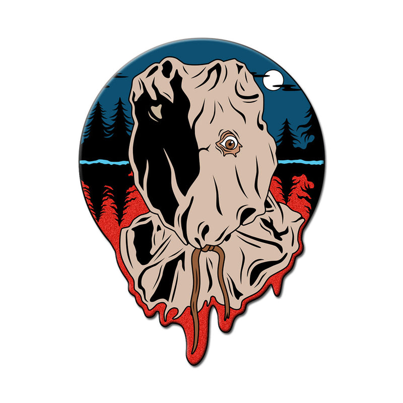 Sackhead Killer Enamel Pin - Dystopian Designs