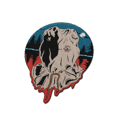 "Sackhead Killer 4"" Embroidered Patch - Dystopian Designs"