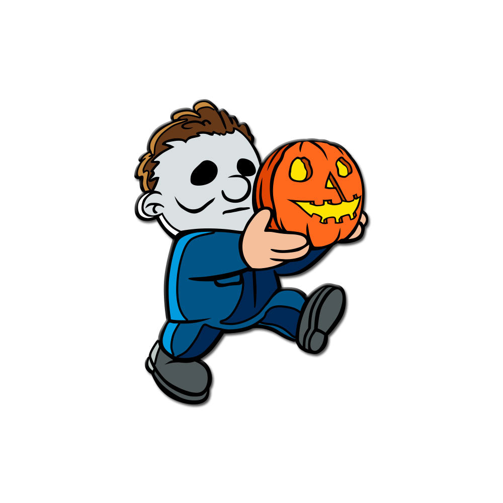 Super Horror Bros. Haddonfield Enamel Pin