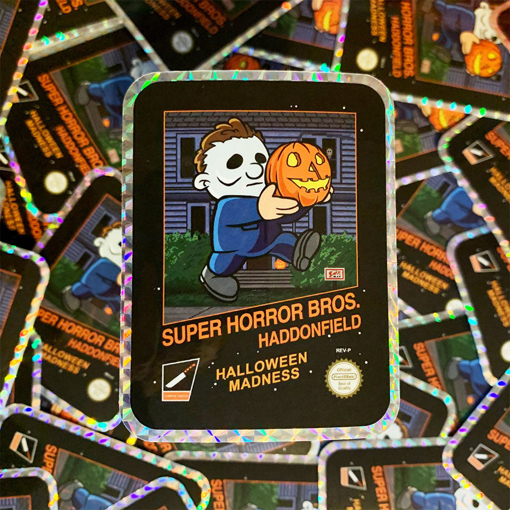 Super Horror Bros. Haddonfield Hologram Sticker