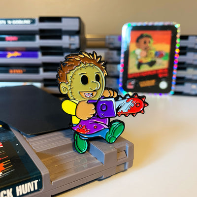 Super Horror Bros. Texas Enamel Pin