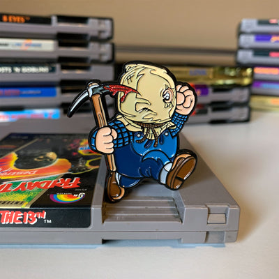 Super Horror Bros. 2 Enamel Pin - Dystopian Designs