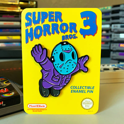 Super Horror Bros. 3 8-Bit NES Enamel Pin (Seconds)