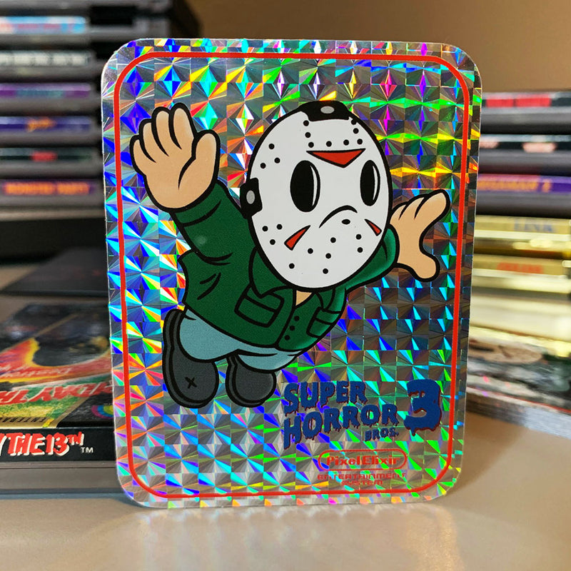 Super Horror Bros. 3 Hologram Sticker