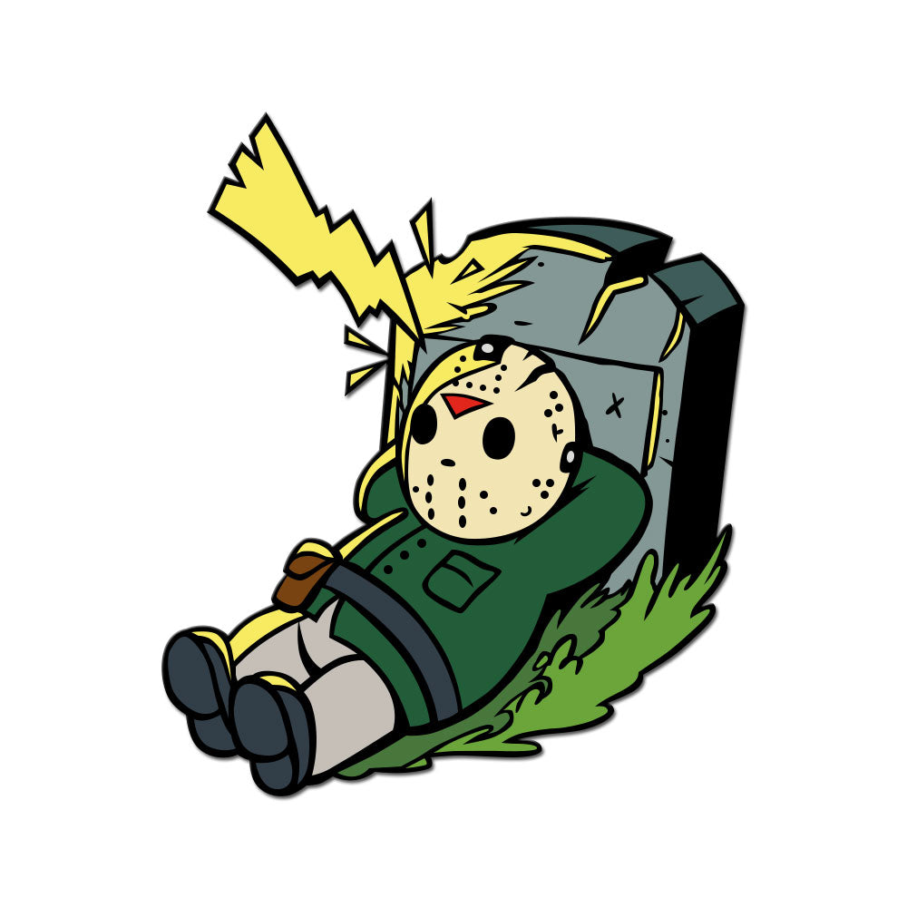 Super Horror Bros. 6 Enamel Pin
