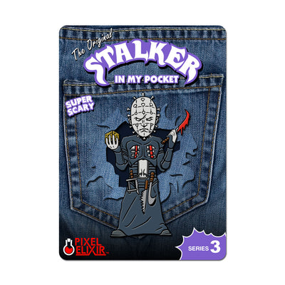 Stalker In My Pocket Enamel Pin - Nailface