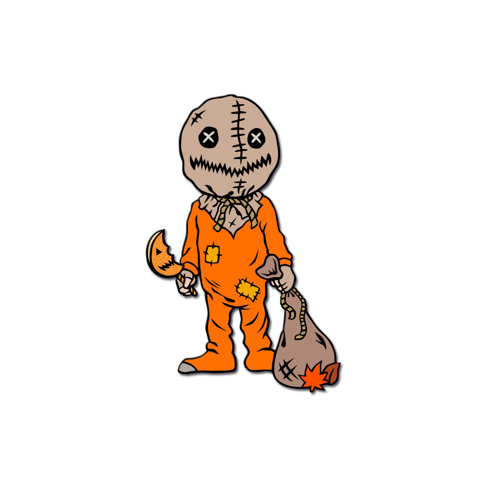 Stalker In My Pocket Enamel Pin - Trick 'r Treater