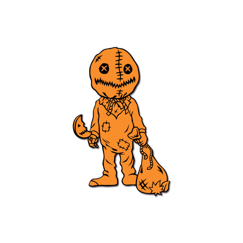 Stalker In My Pocket Enamel Pin - Trick 'r Treater - Dystopian Designs