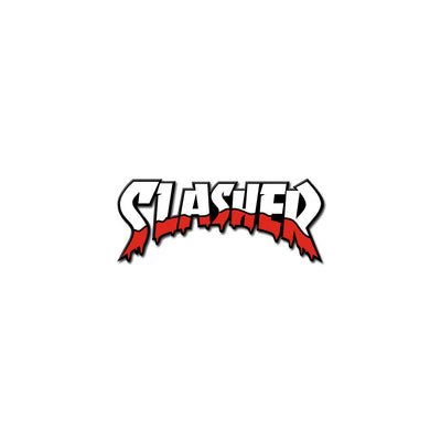 Slasher Logo Pin - Dystopian Designs