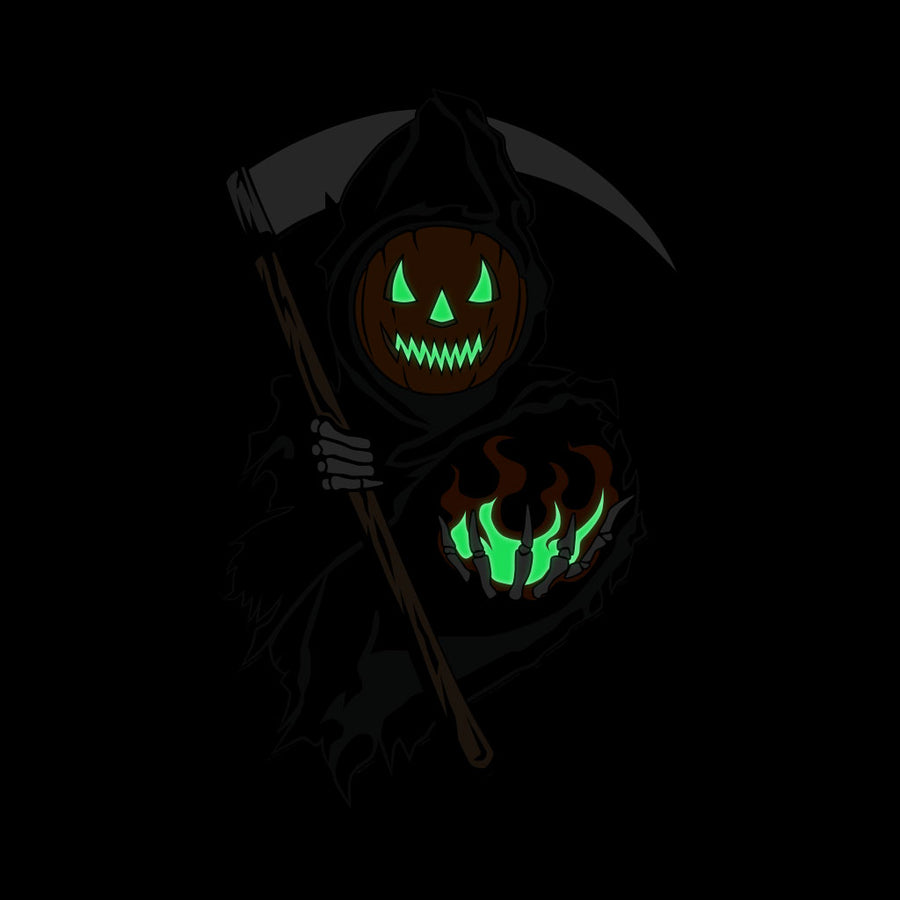 Spirits of Halloween Reaper Enamel Pin + Sticker