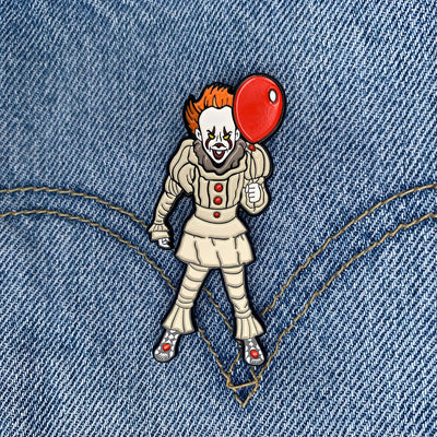 Stalker In My Pocket Enamel Pin - IT - Dystopian Designs