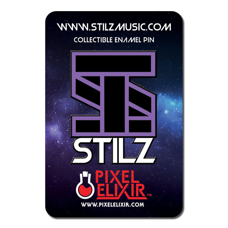Stilz Enamel Pin + Album Download - Dystopian Designs