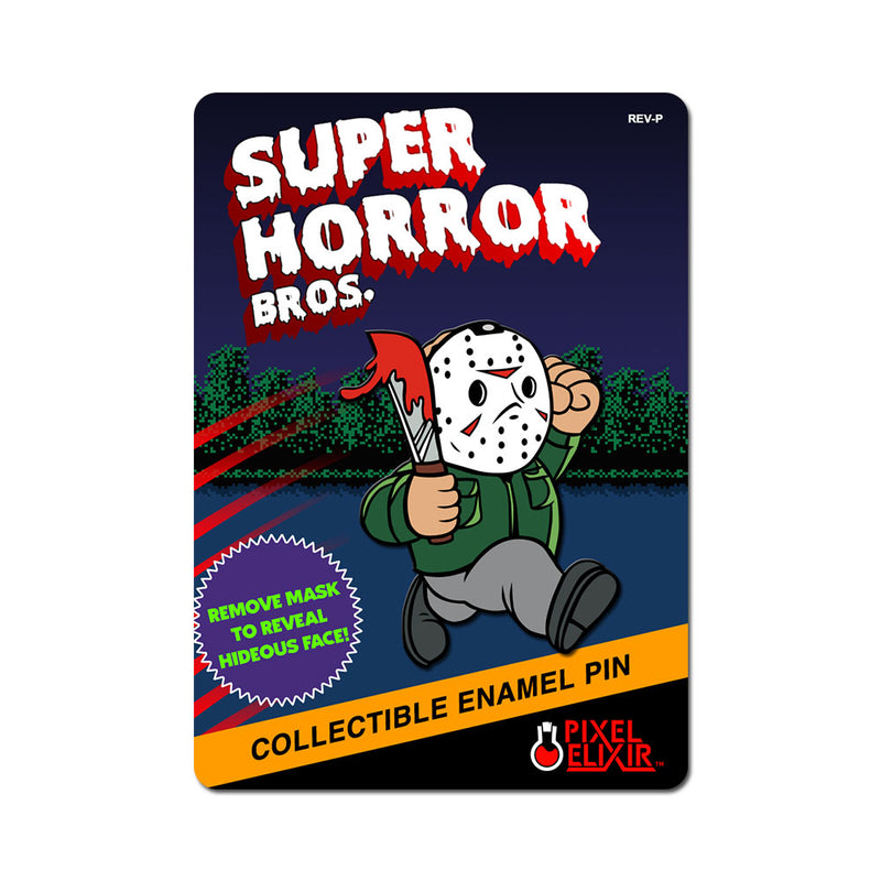 Super Horror Bros. Enamel Pin - Dystopian Designs