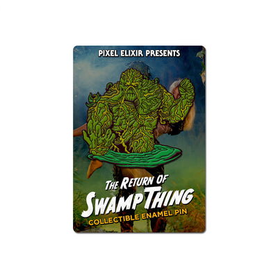 Return of Swamp Thing Enamel Pin - Dystopian Designs