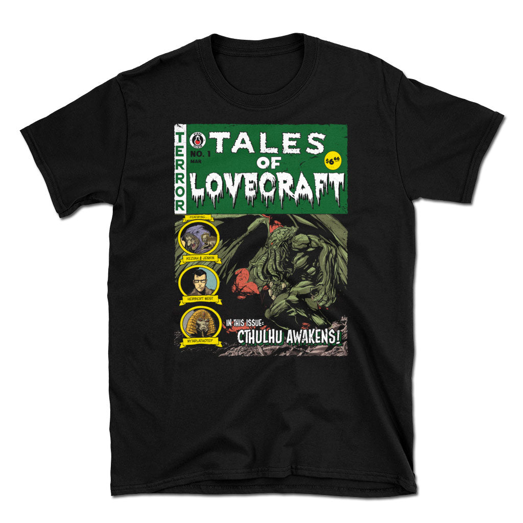 Tales of Lovecraft T-Shirt - Dystopian Designs